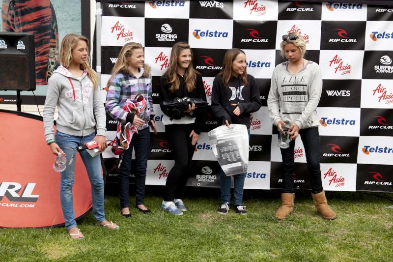 Under 14 Girls Finalists