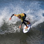 Zoe Clarke (VIC) utilized local knowledge to win the 14 & Under girls division. Photo Cahill Bell-Warren/Surfing Victoria